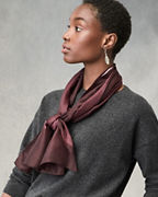 EILEEN FISHER Shibori Dashes Silk Scarf