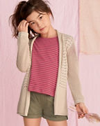 Girls' Organic-Cotton Summer Breeze Cardigan