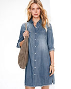 Essential Chambray Shirtdress