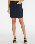 Essential Straight Denim Skirt