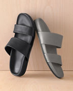 Lena Leather Slides