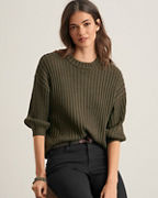 Velvet by Graham & Spencer Ribbed Mock-Neck Pullover
