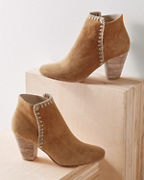 Huma Blanco Whipstitch Booties