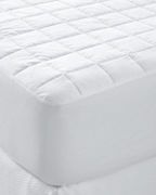 Garnet Hill Signature 400 Thread Count Sateen Down-Alternative Mattress Pad