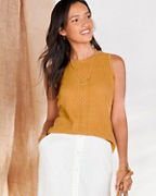Pointelle Sweater Tank