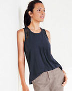 Lace-Inset Tank