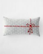 Holiday Knit Gift Lumbar Pillow