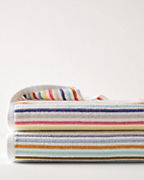 Ribbed Multi-Stripe Towels