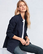 EILEEN FISHER Organic-Cotton Textured Jacket