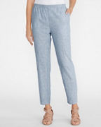 EILEEN FISHER Hemp & Organic-Cotton Ankle Pants