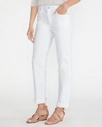 EILEEN FISHER Organic-Cotton Stretch Straight Full-Length Jeans