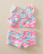 Girls' Snapper Rock Rainbow Bikini
