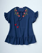 Girls' OndadeMar Embroidered Cover-Up