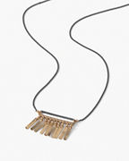 Dana Kellin Simple Fringe Necklace