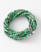 Ann Lightfoot Chrysoprase Bracelet