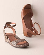 Gentle Souls Giselle Ankle-Strap Sandals