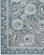Caspian Paisley Hooked Wool Rug by Company C
