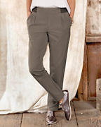Pleated Active Trousers