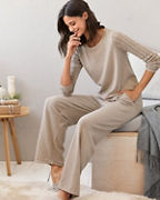 Pointelle Sweater Pajamas