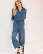 Velvet by Graham & Spencer Penelope Cotton Gauze Jumpsuit