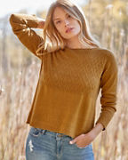 Wool & Linen Boatneck Sweater