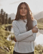 Essential Merino Funnel-Neck Sweater