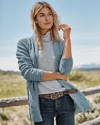 Essential Cashmere Cabled Cardigan