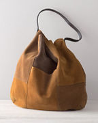Brooks Suede Tote