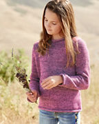 Kids' Marled Rollneck Sweater