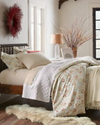 Signature Trailing Vine Floral Flannel Bedding