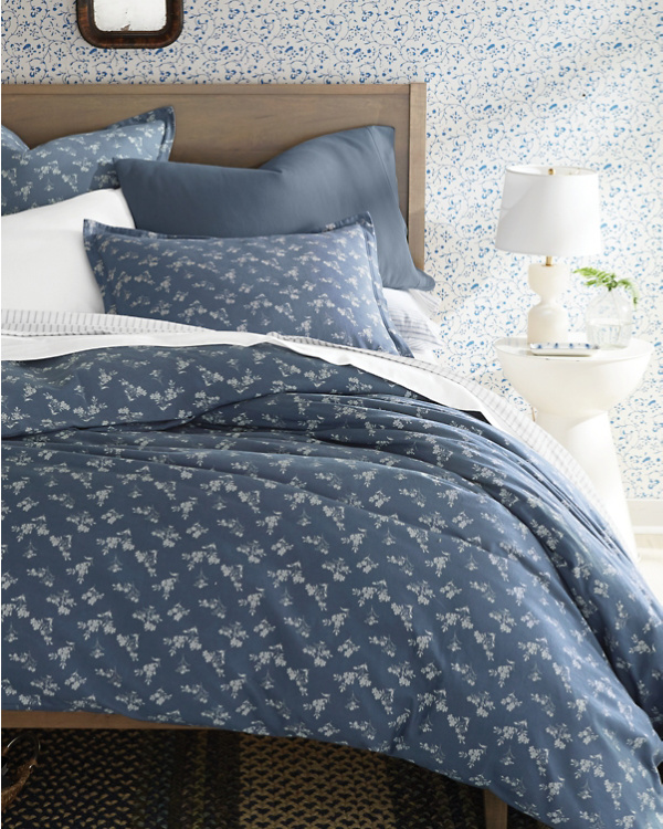 Garnet Hill Flannel Bedding
