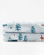 Winter Wonderland Organic-Cotton Flannel Bedding
