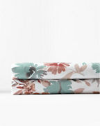 Giverny Floral Relaxed-Organic-Cotton Sateen Bedding