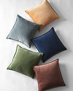 Cotton Velvet Pillow Cover