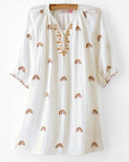 Girls' Ava Dress by Pink Chicken