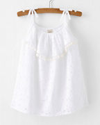 Girls' Beet World Holly Eyelet Tank