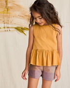 Girls' Camp Bow Shorts by Pink Chicken