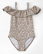 Girls' Rylee + Cru Flora One-Piece Swimsuit