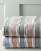 Emerson Stripe Cotton Blanket