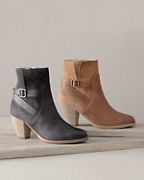 Riley Heeled Buckle Boots