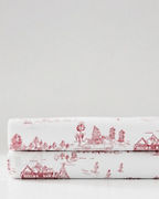 Wintertime-Toile Organic-Cotton Percale Bedding