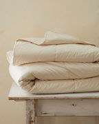 Organic-Cotton Cotton-Filled Comforter