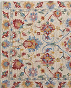 Company C Charlotte Floral Hooked Wool Rug