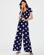 The Odells Button-Front Jumpsuit