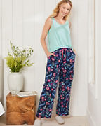 Washed Pima Sateen Pajama Pants