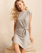 Tie-Waist Knit Dress
