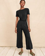 Twist-Front Jumpsuit