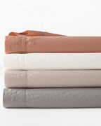 Garment-Washed Organic-Cotton and TENCEL™ Bedding