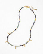 Robindira Unsworth Short Mixed-Stone Necklace