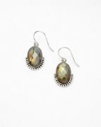 Satya Embellished Labradorite Drop Earrings